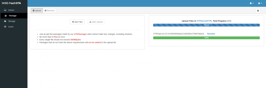 How to configure your FTP server to OTA - ESS-WIKI